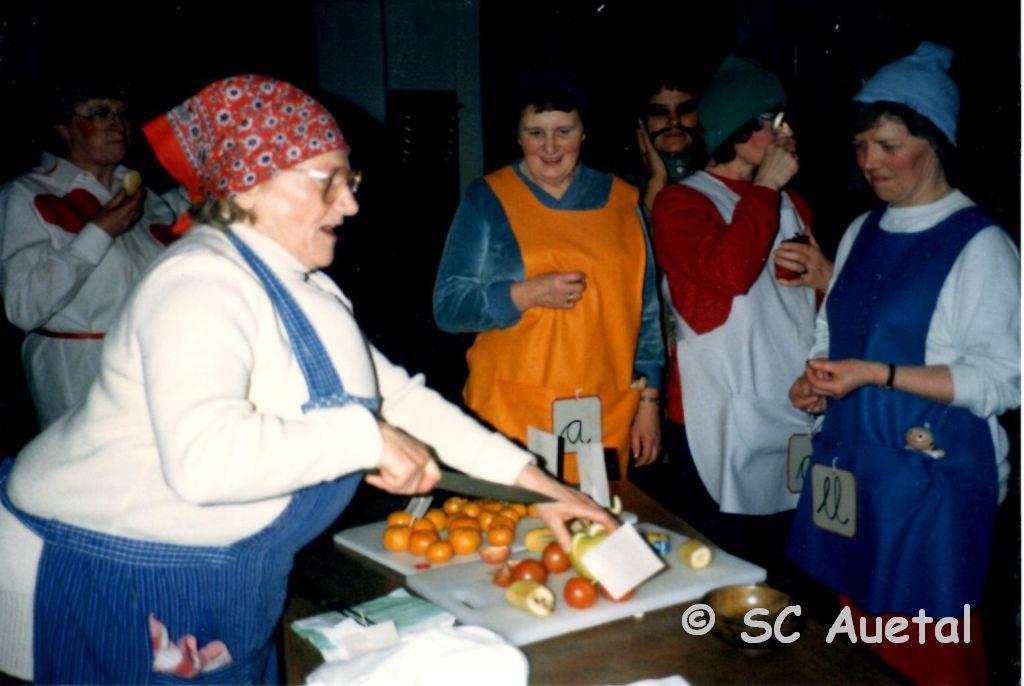 Karneval mit Helga Höhle