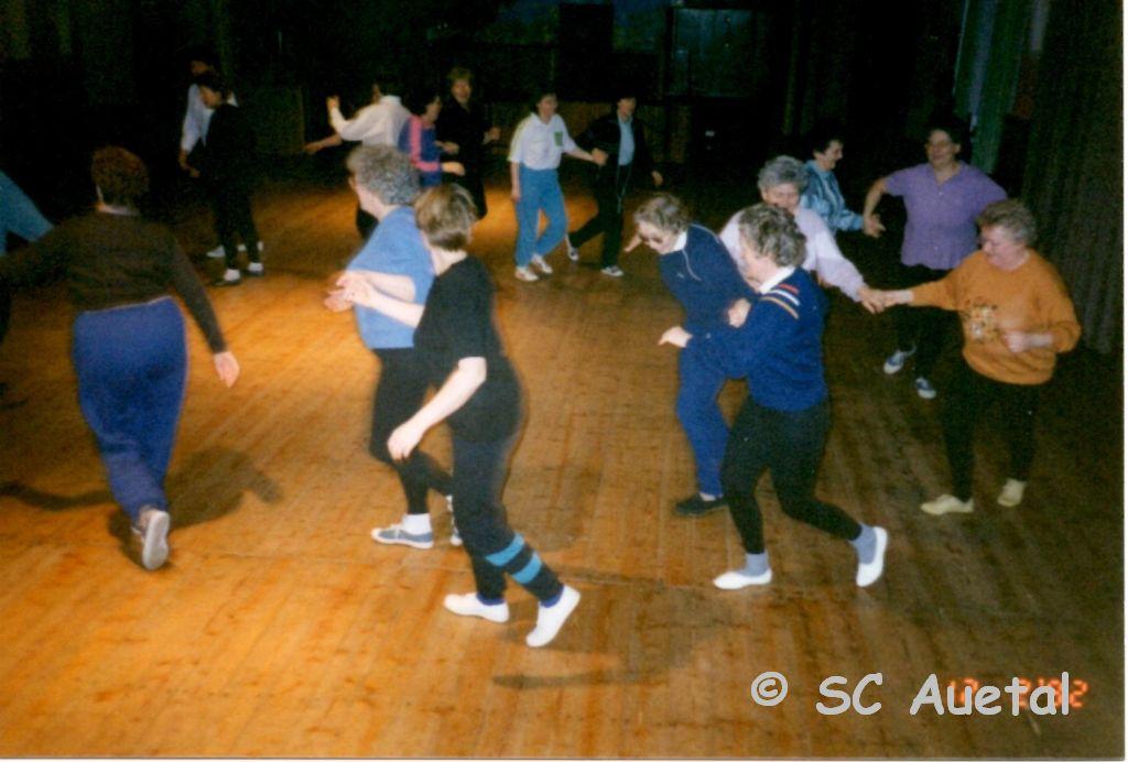 Tanz einüben